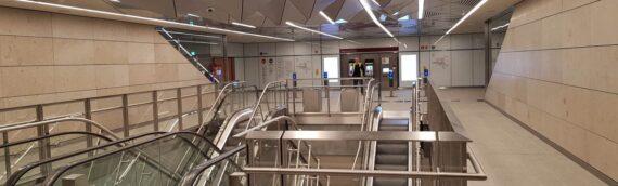 Unutrašnje fasade – Metro